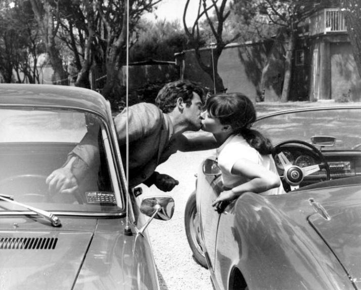 belmondo et karina pierrot le fou 1965